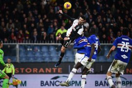 Lompatan Cristiano Ronaldo lawan Sampdoria ternyata bukanlah tertinggi