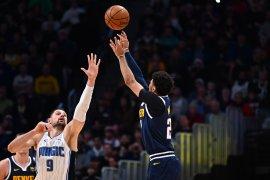 Berita ringkasan laga NBA, Thunder dan Nuggets balik menang