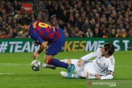 Liga Spanyol, Real Madrid agresif tapi El Clasico berakhir dengan skor kaca mata