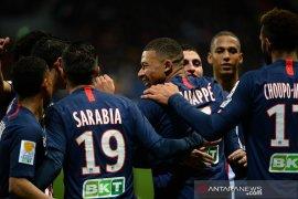 Piala Liga Prancis, PSG, Lyon dan juara bertahan melaju ke perempat final