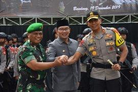 Ridwan Kamil pastikan Jawa Barat kondusif jelang Natal-Tahun Baru