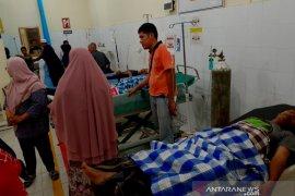 Usai makan nasi bungkus Pilkades, ratusan warga Asahan diduga keracunan