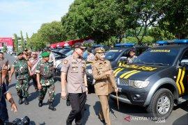 1.100 personel gabungan siap mengamankan Natal dan Tahun Baru di Jember