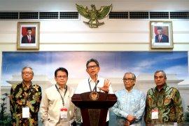 Presiden serahkan pemenang desain ibu kota negara ke Dewan Juri