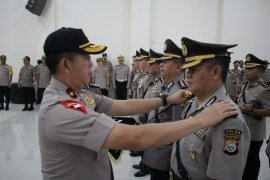 Kapolda Malut pimpin sertijab pejabat utama