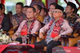 Wapres Ma'ruf Amin: Kesetiakawanan sosial berperan mengikis sikap intoleran