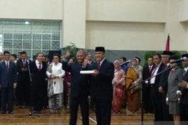 Firli Bahuri terima memori jabatan Ketua KPK dan iPad