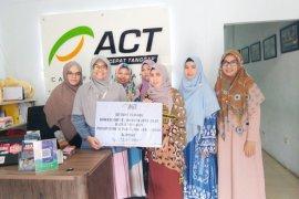 MI BQSR salurkan Rp13 juta bagi Palestina dan Suriah melalui ACT Aceh