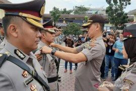 Jabatan enam Kapolsek di Medan diserahterimakan