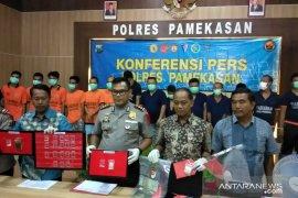 Polres Pamekasan tangkap 14 orang tersangka kriminal