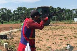 Atlet menembak asal Babel raih juara tiga pada kejurnas