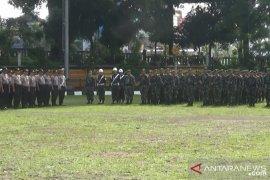 Ratusan petugas gabungan siaga amankan Natal dan Tahun Baru di Sukabumi