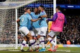 Liga Inggris, Man City bekuk Leicester 3-1, selisih menipis satu poin