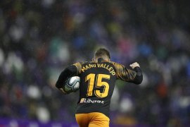 Gol menit akhir Manu Vallejo selamatkan Valencia dari kekalahan