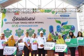 BPJamsostek Jatim apresiasi Pemerintah Kota Madiun akomodasi pekerja informal