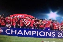 Bali United akhirnya raih juara Liga I