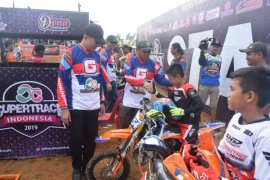 Meriahkan Hari Juang TNI AD, Kodim 0204/DS gelar kejuaraan motocross