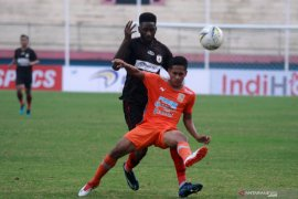 Persipura bermain imbang lawan Borneo FC