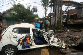Kecelakaan beruntun di Pasuruan