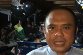 """Wabup Kayong Utara ikut naik kapal """"kelotok"""" ke Teluk Batang"""