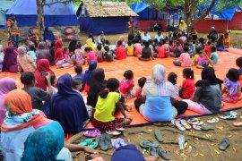 BPBD dan instansi teknis lanjutkan sosialisasi gempa dan psikososial di desa Liang