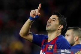 Jelang libur musim dingin, Barcelona di puncak klasemen unggul dua poin