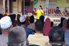 Jemput aspirasi warga, SobirLubisreses di Manyabar