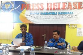 Klinik Pratama BNNK Tabalong merehabilitasi 48 pengguna narkoba
