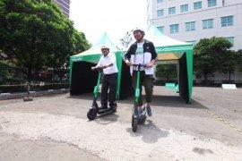 Jalur sepeda di Kota Bandung akan diintegrasikan dengan skuter listrik
