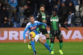Liga Italia, Napoli akhiri puasa kemenangan delapan laga dengan tundukkan Sassuolo