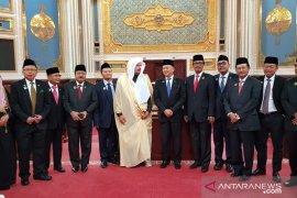 Pimpinan MPR temui Raja Salman minta tambahan kuota haji