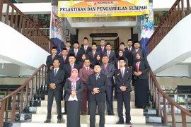 Sebanyak 15 anggota Panwascam Banjarmasin dilantik