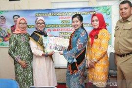Melati Erzaldi distribusikan 7.500 eksemplar Maudi ke Bangka Barat