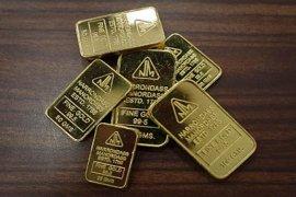 Harga emas  meningkat dipicu pelemahan dolar