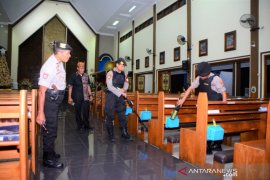 Natal 2019, Polres Situbondo sterilisasi gereja pastikan keamanan