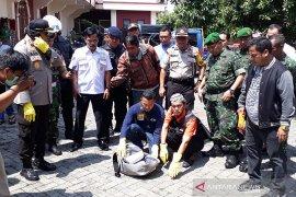 No explosive inside backpack found near Depok church