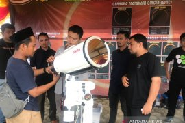 Gerhana matahari cincin perdana melewati Aceh