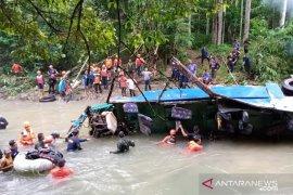 Identitas tiga korban Bus Sriwijaya belum diketahui