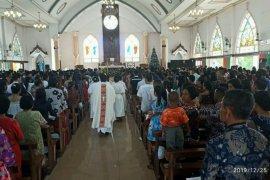 Pastor ajak umat Katolik Kapuas Hulu jaga persatuan  kesatuan bangsa