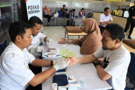 KAI Cirebon beri layanan kesehatan bagi pengguna jasa kereta