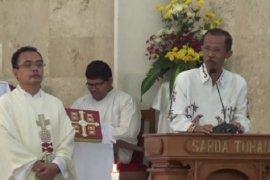 Bupati Suprawoto bersama forkopimda sambangi sejumlah gereja di Magetan