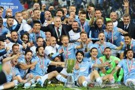 Perjalanan  juara 2019, dibuka dan ditutup Piala Super Italia