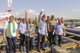 Menteri Edhy Prabowo setuju larangan ekspor benih lobster