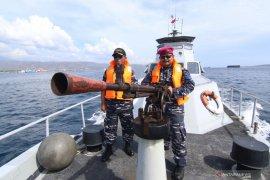 Patroli pengamanan Natal dan Tahun Baru di selat Bali