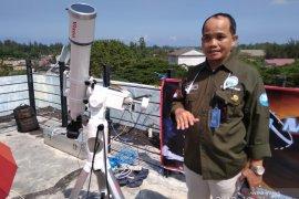 BMKG Aceh: gerhana matahari lintasi Banda Aceh pukul 10.04 WIB