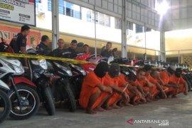 Polresta Banda Aceh tangkap delapan pencuri sepeda motor