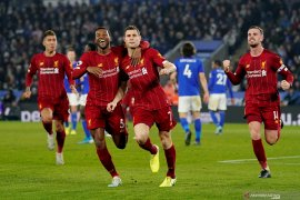 Bantai Leicester 4-0, kini Liverpool unggul 13 poin di puncak klasemen