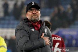 Klopp sebut keunggulan 13 poin Liverpool di puncak klasemen bukan hal relevan