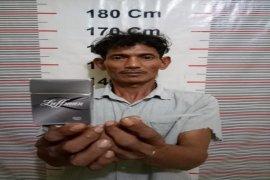 Polisi Gebang Langkat tangkap nelayan miliki sabu-sabu