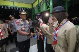 Kapolda Kalbar nostalgia kunjungi SMAN 1 Singkawang